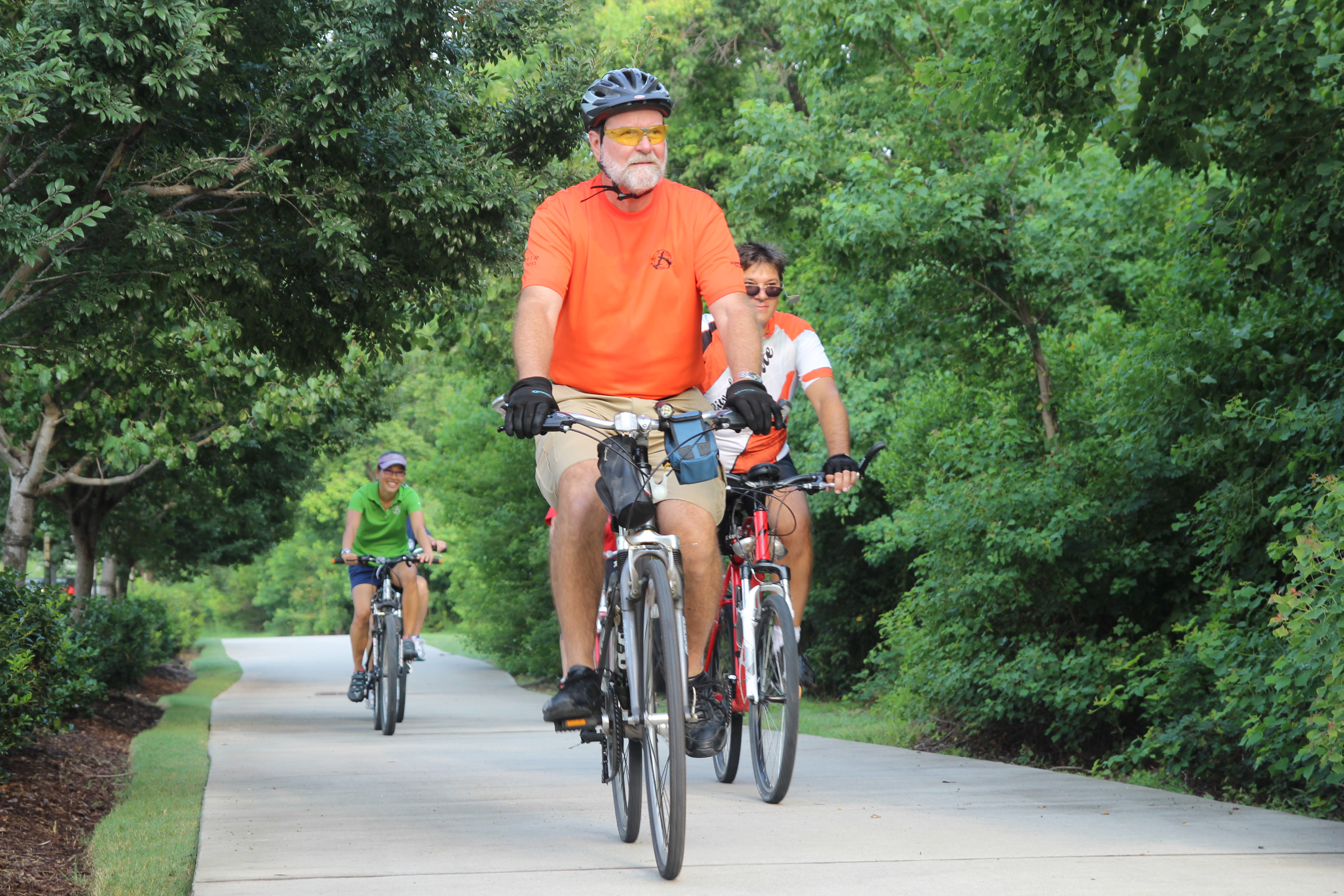 bike trails The georgetown parks and recreation department has nearly 9 miles of hike and bike trails along the north and south san gabriel rivers view our interactive parks and.