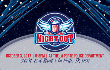 National Night Out 2017 - News Flash Graphic